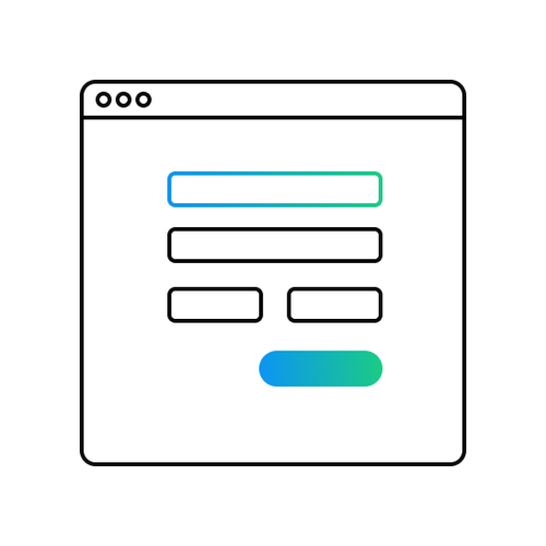 Corporate Registration Form Icon