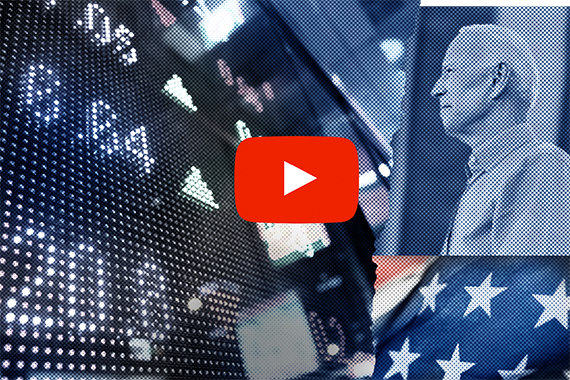 Markets welcome Biden - Election victory video cover