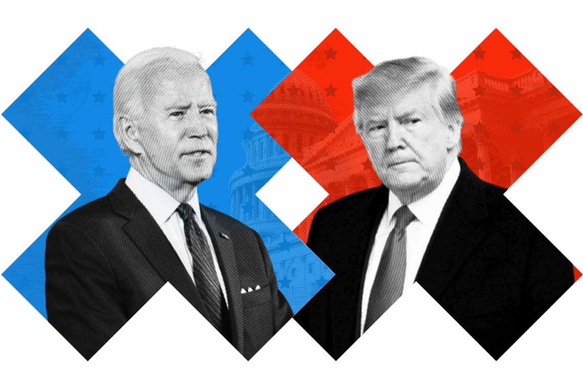 US Election Trump and Biden